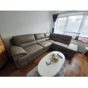 Argento corner sofa bed