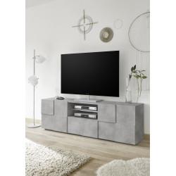 Diana 181cm concrete imitation TV Unit with LED lights