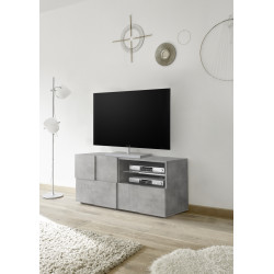 Diana 121cm concrete imitation TV Unit with LED lights