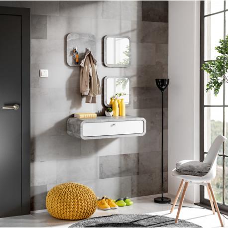 Wally II modern hallway furniture composition