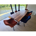 Calabria acacia wood table in various options