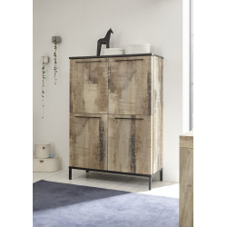 Mango II two door storage cabinet