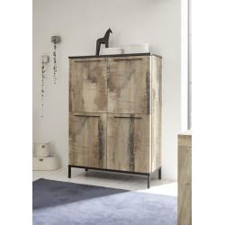 Mango II two door storage cabinet