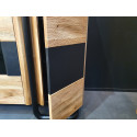 Omega assembled large highboard with 3 doors