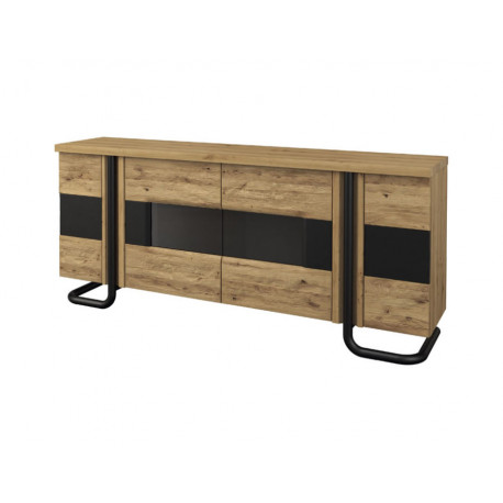 Omega assembled large sideboard with 4 doors