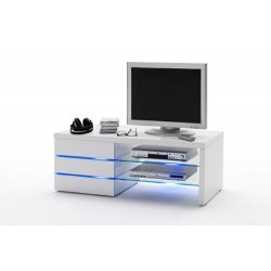 Lena - high gloss TV unit with LED lights