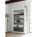 Fiorano bookshelf in white gloss and oxide finish