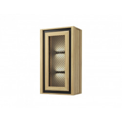 Nesco assembled hanging display cabinet