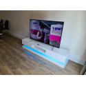 Sven - high gloss TV unit with LED lights