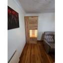 Santori assembled large solid wood display cabinet