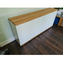 Chiaro 182cm sideboard with natural oak top