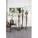 LADY Abstract decorative Sculptures Old Gold 125 cm