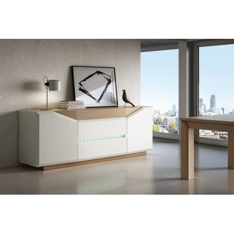 Diam - luxury bespoke sideboard with optional lighting