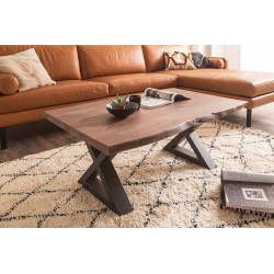 Cartagena Coffee Table Acacia Solid Wood 110x70x45