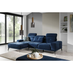 Torrense Corner Sofa with Pouf