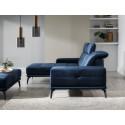 Torrense corner sofa with pouf
