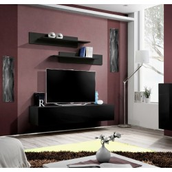 Fly I Hanging TV unit High Gloss