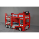 Double Decker Bunk Bed - Fire engine