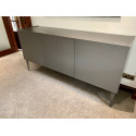 Livia - grey or white matt lacquered sideboard