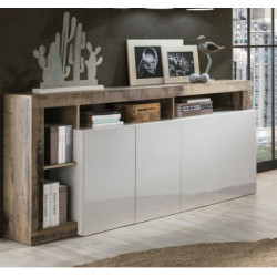 Hamburg Sideboard 4 doors in High Gloss