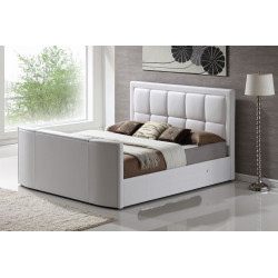 "The Azure Super King Size TV Bed with 32"" smart Samsung"
