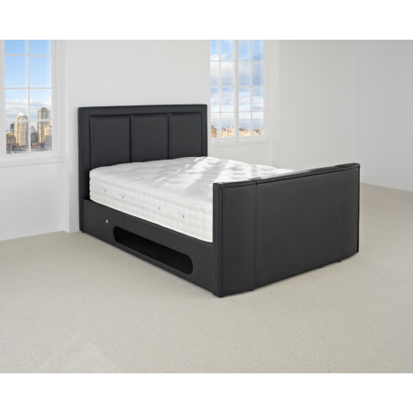 "The Cabaret Super King Size TV Bed with 32"" smart Samsung"