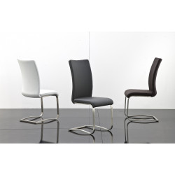 Arco 2 luxury real leather dining chair