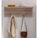 Malea Hallway Set in Light Oak Finish
