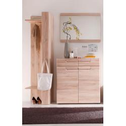 Malea Small Hallway Set in Light Oak
