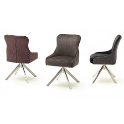 Sheffield A swivel dining chair with pocket springs in various colours
