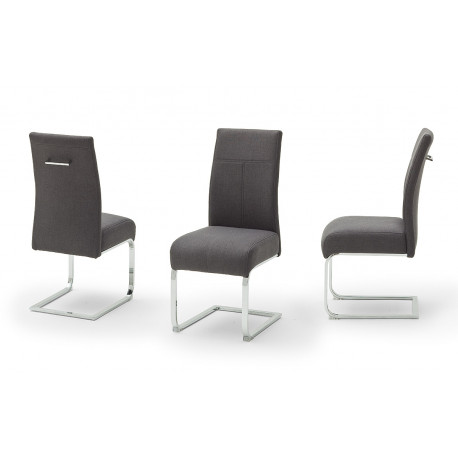 Foshan modern dining chair with pocket springs and easy clean fabric