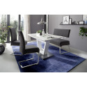 Foshan dining bench with pocket springs and easy clean fabric