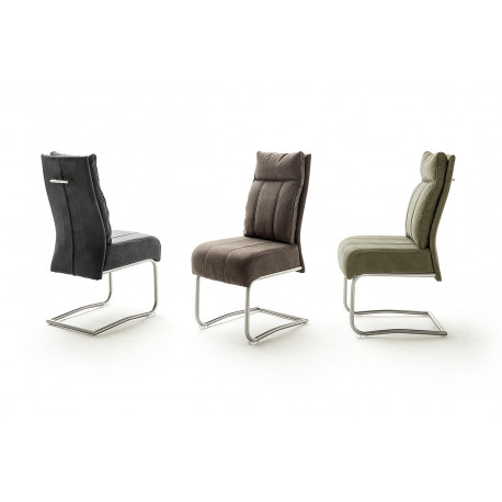 Azul modern dining chair with pocket springs