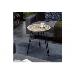 Nevis mango wood side table