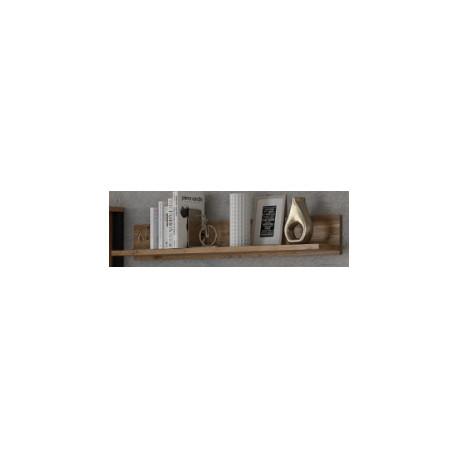 Wall Shelf Olin 147 cm in wood imitation