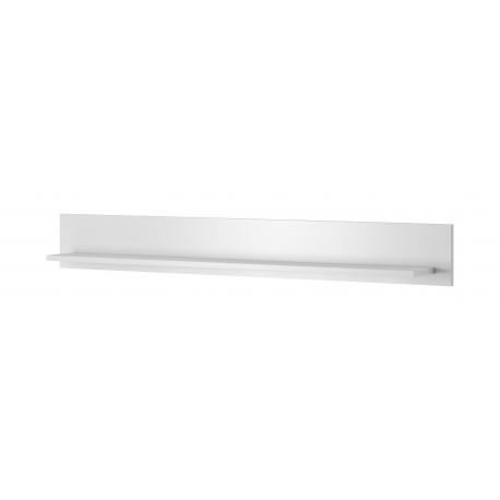 Toledo Wall Shelf in White High Gloss