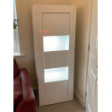 Dolcevita - narrow gloss display cabinet