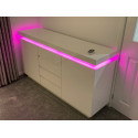 Avanti II - gloss sideboard with LED lights-FAST DELIVERY !!