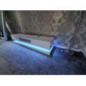 Sven - high gloss TV unit with LED lights