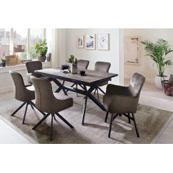 Siros Extendable Dining Table in three colour options