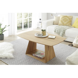 Jacobstad Coffee Table in Solid Oak