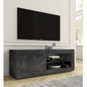 Dolcevita Gloss and oak finish TV Stand