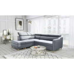 Bergen Sofa Bed with free-standing pouf