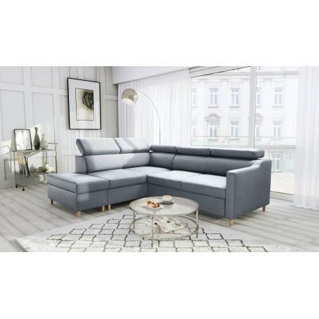 Bergen Sofa Bed with freestanding pouf