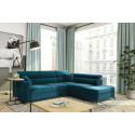 Azzuro Sofa Bed with free-standing pouf