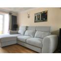 Pallazo - L shape modular sofa with bed option