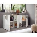 Miro II 181cm grey gloss decorative sideboard