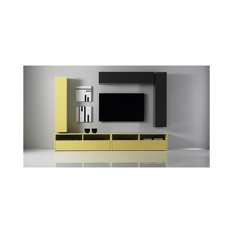 Box Long Wall Unit Wall Units Sena Home Furniture