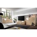 Vittoria TV stand in White High Gloss
