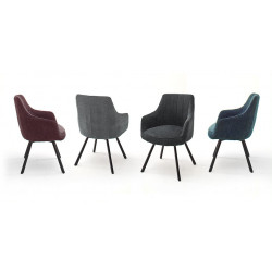 Sassello modern dining chair with pocket springs